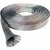 "1/8"" Tinned Copper Metal Braided Sleeving - 10FT"