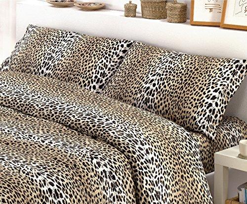 Centesimo web shop trapunta letto invernale matrimoniale maxi stampa prodotta in italia due piazze made in italy fantasia etnica maculata leopardata beige nero marrone -