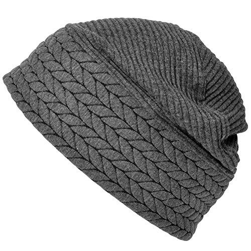 Casualbox hommes hiver crâne chapeau bonnet chapeau fabriqué à Japon lumière