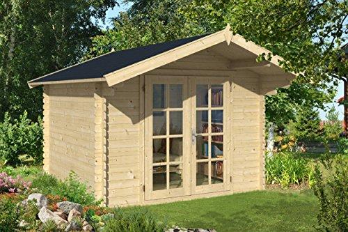 Gartenhaus 300 x 300 cm Gerätehaus Blockhaus