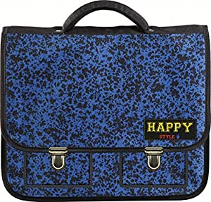 Clairefontaine Happy Style cartable Bleu