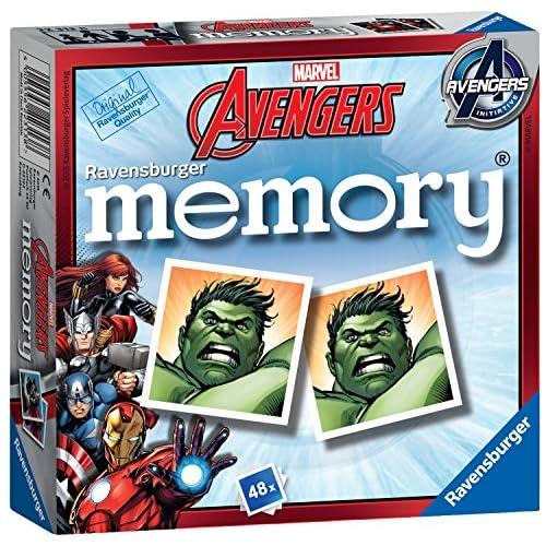 Ravensburger Avengers Assemble Juego de Tarjeta de Memoria 8