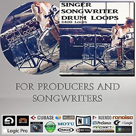 Songwriter Drumloops - For Singer songwriters & Music Producers