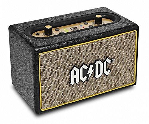 iDance ACDC Classic 2 Bluetooth Lautsprecher im AC/DC Design 50 Watt USB Ac Bluetooth