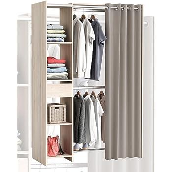 Habeig GROSSER Kleiderschrank #897 Begehbar Offen Garderobe Schrank Regal  Schublade NEU