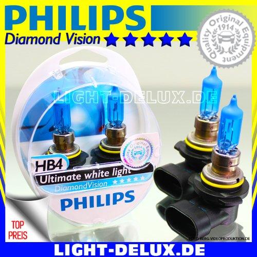 Ampoule HB4 (2 pièces) - PHILIPS DIAMOND VISION HB4 9006
