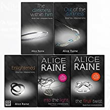 untwisted series alice raine collection 5 books set (the darkness within him, out of the darkness, enlightened, into the light, the final twist)