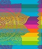Secaneta. Toalla de Playa tamaño Doble de 175x150 cm Algodón Egipcio 100%. Masala