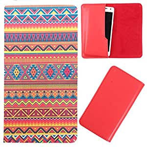 DooDa - For Karbonn S9 Titanium PU Leather Designer Fashionable Fancy Case Cover Pouch With Smooth Inner Velvet