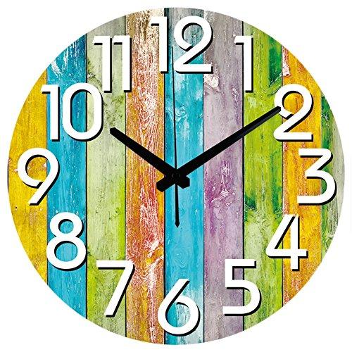 Moderne Maison Décoration Montre Murale Silencieuse Grande Horloge Murale Décorative Design Moderne Pour Salon Mur Décor , 14
