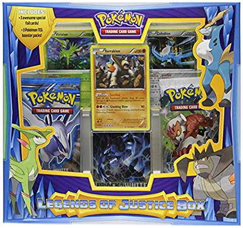Pokémon TCG: Legends of Justice Box – Boite Trio des Mousquetaires – Edition Anglaise (Import