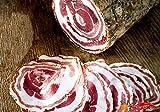 Pancetta Arrotolata Dolce - Dalla Calabria 500gr Salame stagionato Non Piccante Prodotti Tipici Calabresi Sfizi di Calabria Senza Peperoncino