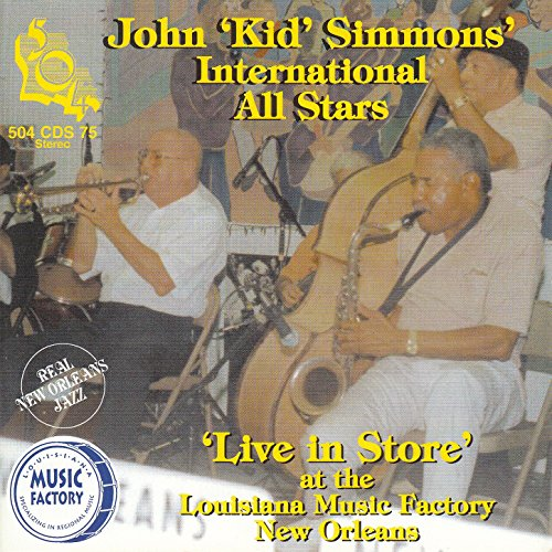 'Live in Store' at the Louisiana Music Factory New Orleans