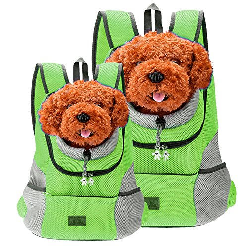CozyCabin mit Stil mit Hund Katze Haustier-Rucksack mit Front-Tasche für kleine Hunde-Fahrrad, Wandern, Outdoor -