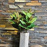 FYYDNZA High Degree Simulation Magnolie Blatt 57 Cm Bonsai Hochzeit Künstliche Pflanzen Valentinstag Dekorative Blume Von