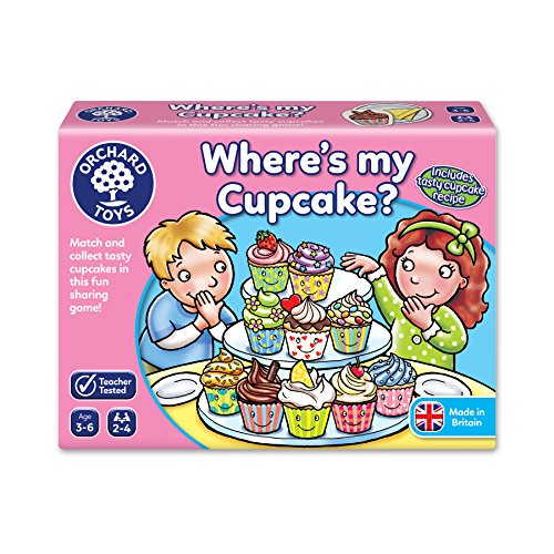 Orchard Toys Where's my Cupcake?...