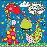 Rachel Ellen dinosaurios Libro para colorear, multicolor