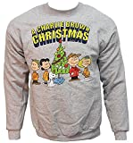 Peanuts Charlie Brown Christmas Graphic Sweatshirt For Adults