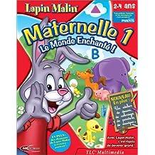 Lapin Malin Maternelle 1, 2-4 ans + Atelier de Dessin et de Musique