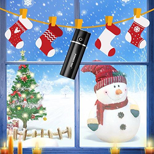 Poweradd-Slim2-Batteria-Portatile-5000mAh-con-output-di-21A-e-Tecnologia-di-Rilevamento-Automatico-per-iPhone-Huawei-Samsung-Nero