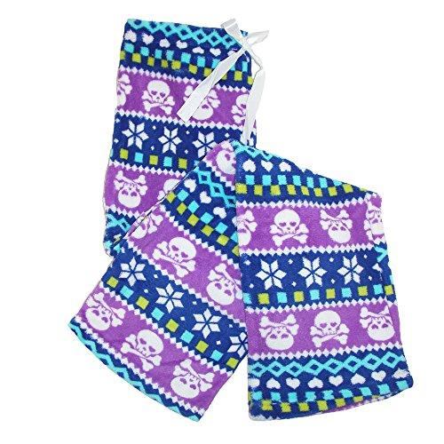 Ten West Apparel - Bas de pyjama - Femme multicolore Multicoloured taille unique Violet