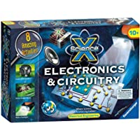 Ravensburger Science X Maxi Electronics and Circuitry - Juego de circuitos y electrónica