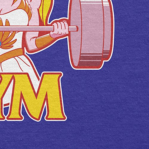 TEXLAB - She Fitness 1985 - Damen T-Shirt Marine