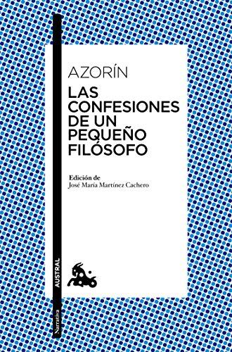 Las Confesiones De Un Pequeño Filósofo
