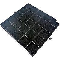 Filtre charbon 260x256x17mm airforce fc120 affcaf16cs afcfcaf16cs hbox90x hboxf5390x hbox90ek hotte arthur martin…