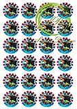 ', Piraten' 24 Muffinaufleger, Tortenaufleger,Geburtstag,Tortendeko,