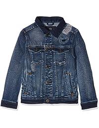 Scotch & Soda Boy's Trucker Vintage Cuts Jacket
