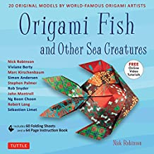 Origami Fish and Other Sea Creatures Ebook: 20 Original Models by World-Famous Origami Artists (with Step-by-Step Online Video Tutorials, 64 page instruction book & 60 folding sheets)