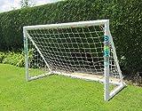 Samba Fußball Fun Ziel 6ft x 4ft Garten Kinder Fußballtore mit Netz
