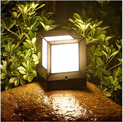 Landschaft Poller (Aussenlampe Wandbeleuchtung Wandlampe Wandleuchte Innen 15 Cm Outdoor Garten Säule Licht Aluminium Eingangstür Zaun Straße Stigma Säule Lampen Villa Landschaft Rasen Poller)