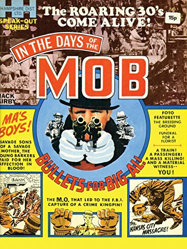 In the Days of the Mob HC por Jack Kirby