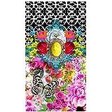 Melli Mello Toalla Playa Zaira Rosa/Multicolor/Multicolor 100 x 180 cm