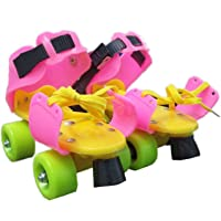 Sajani Dry Skates for Kids with Front Breaks (Colour May Vary)(Size- 4 to 12 Years)
