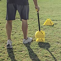 SKLZ Coaches Tool For Portability And Organization Pro Training Cone Collector Gelb-Schwarz one-size