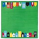 IKEA hemmahos–Teppich grün