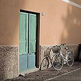 Alan Blaustein Liguria per fotografia Street Scene Europe-Poster, stampa su tela, o), 91.4x91.4 Unstretched Canvas