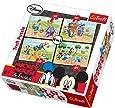 Trefl 4-in-1 Puzzle On The Farm Disney Standard