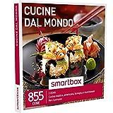 SMARTBOX - Cofanetto Regalo - CUCINE DAL MONDO - Cucina asiatica, americana, spagnola o tradizionale…