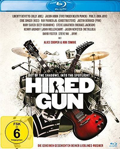 Bild von Hired Gun - Out of the Shadows, Into the Spotlight [Blu-ray]