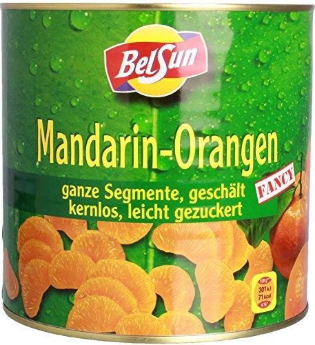 BelSun - Mandarin-Orangen Konservenobst - 1,5kg/2,55kg