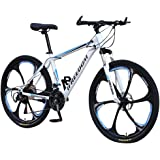 DJFUGFH 26 Inch Bikes for adult and Teenagers,Lightweight Outdoor Bike