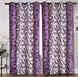 Home Candy Elegant Floral 2 Piece Polyes...