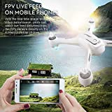 Cewaal NEW X3 Drone with 1080P Camera and GPS Return Home,WIFI Camera Real Time Transmission,Brushless Motor,CE Certification,One Key Return Geomagnetic Correction Aerial Drone for Adults
