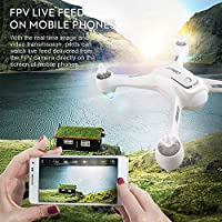 Cewaal NEW X3 Drone with 1080P Camera and GPS Return Home,WIFI Camera Real Time Transmission,Brushless Motor,CE Certification,One Key Return Geomagnetic Correction Aerial Drone for Adults from Cewaal