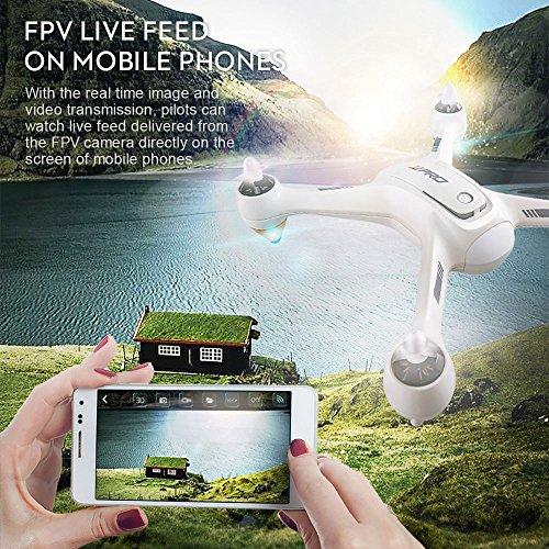 Cewaal NEUE X3 Drohne mit 1080P Kamera und GPS Rückkehr nach Hause,WIFI Kamera Echtzeit-Übertragung,Brushless Motor,CE-Zertifizierung,ein Schlüssel Return Geomagnetic Korrektur Antenne Drohne für Erwa