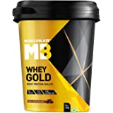 MuscleBlaze Whey Gold 100% Whey Protein Isolate with Digezyme (Rich Milk Chocolate, 4 Kg / 8.8 lb) (Rich Milk Chocolate, 4 kg / 8.8 lb)